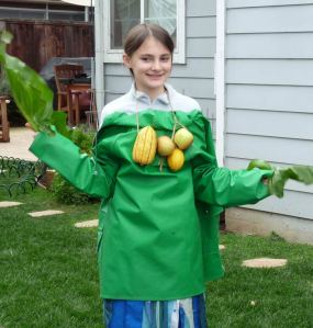 Plants Part Costume Model