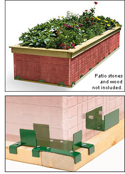 Paver Raised Beds