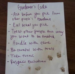 The Gardener's Code