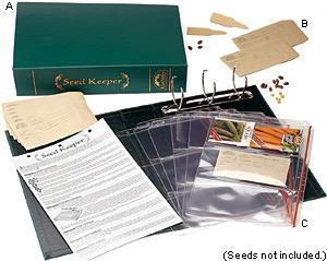 Lee Valley Seed Keeper Kit